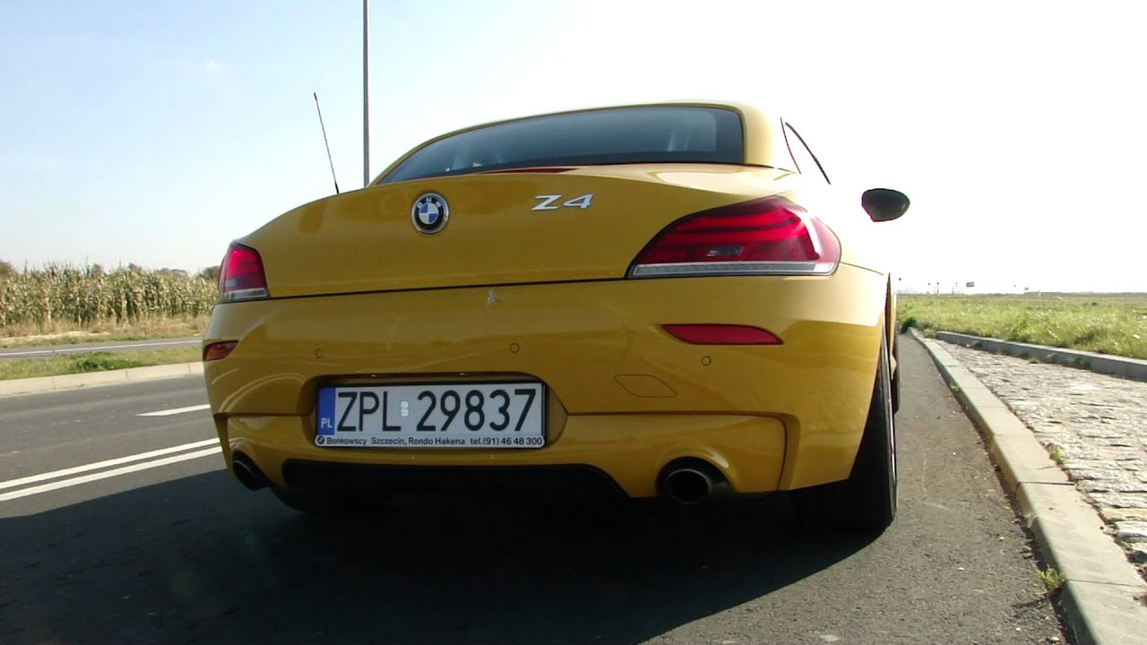 Bmw Z4 Sdrive 35is E89 Dkg Exhaust Sound Start Up