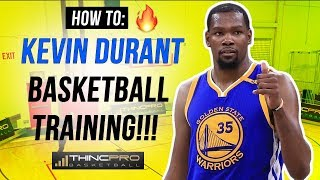 18d01e22019 Basketball Training  5 MINUTE Kevin Durant Circuit! (UNSTOPPABLE Scoring  Moves)