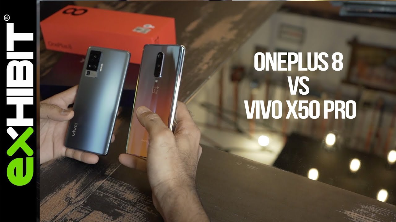 OnePlus 8 VS Vivo X50 Pro | Which one should you buy? | Comparison & Camera  in detail