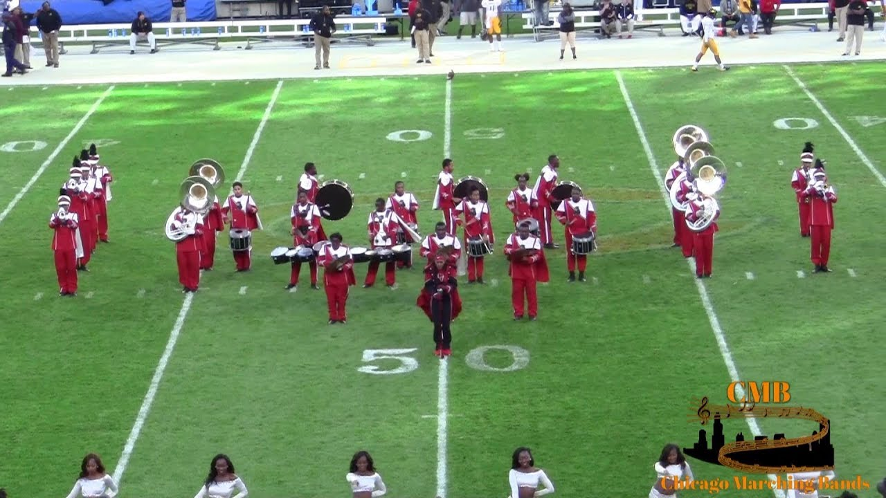 Clark Atlanta University Majors >> Clark Atlanta University Band 2017 Halftime Chicago Football Classic