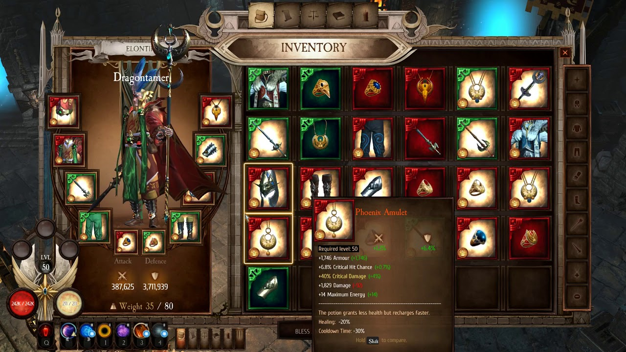 Grim Dawn [Build] DW Chaos Witch Hunter - Lokarr kill 15 ... |Chaos Witch Melee Build