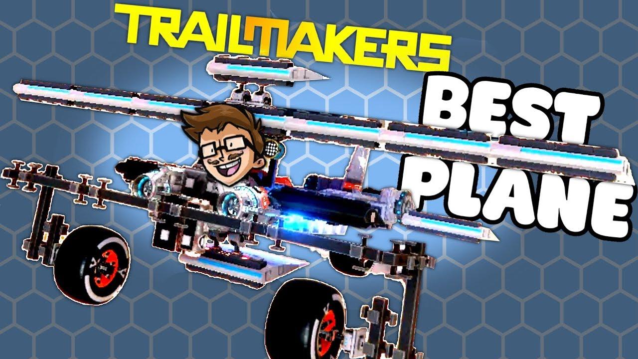ULTIMATE PLANE DESIGN - Trailmakers Gameplay #3