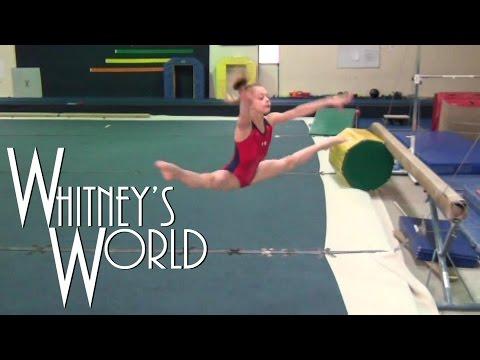 Whitney's Last Level 7 Gymnastics Practice  Whitney