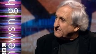AB Yehoshua: Europe needs to be more active in solving the Palestinan & Israeli problem - Newsnight