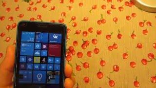 мини обзор Microsoft Lumia 640 LTE