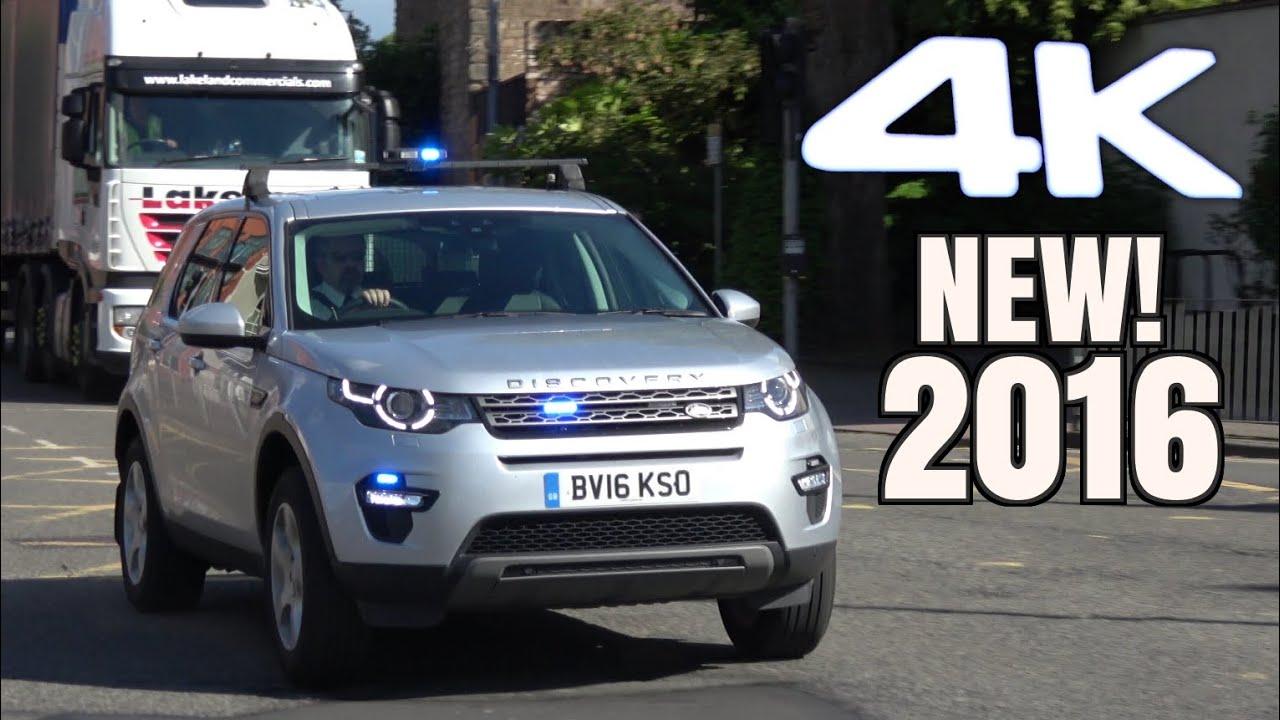 Unmarked Emergency Vehicle Responding 4k New Land