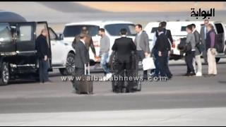 بالفيديو.. لحظة وصول ميسي القاهرة