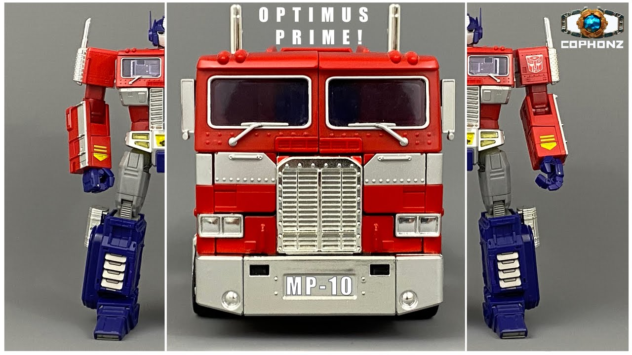 No words review of Masterpiece Optimus Prime MP-10 by COPHONZ