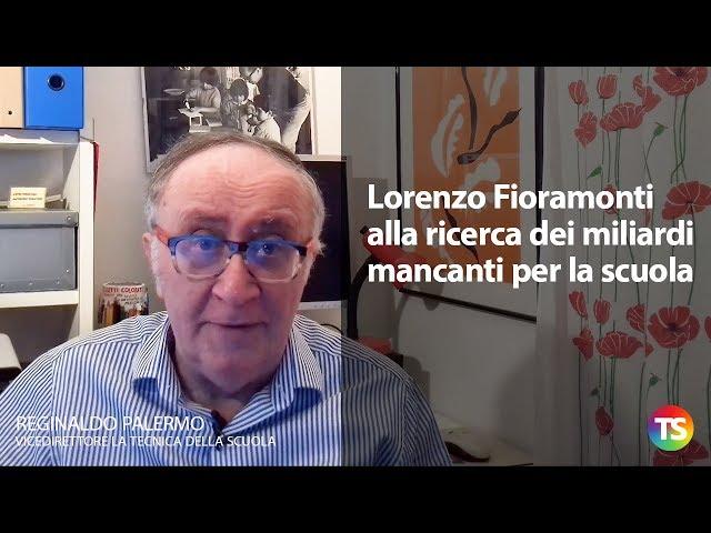 Lorenzo Fioramonti alla ricerca dei miliardi mancanti per la scuola