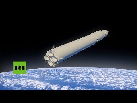 """""""Como un meteorito"""": Putin presenta el nuevo misil 'Avangard'"""