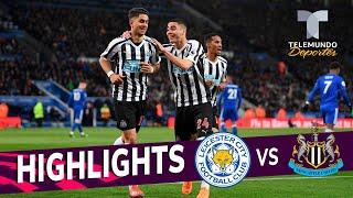 Leicester City vs. Newcastle United: 0-1 Goals & Highlights | Premier League | Telemundo Deportes
