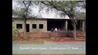 Constructing Shed For Goat Farming By Akbar, Qureshi Farm