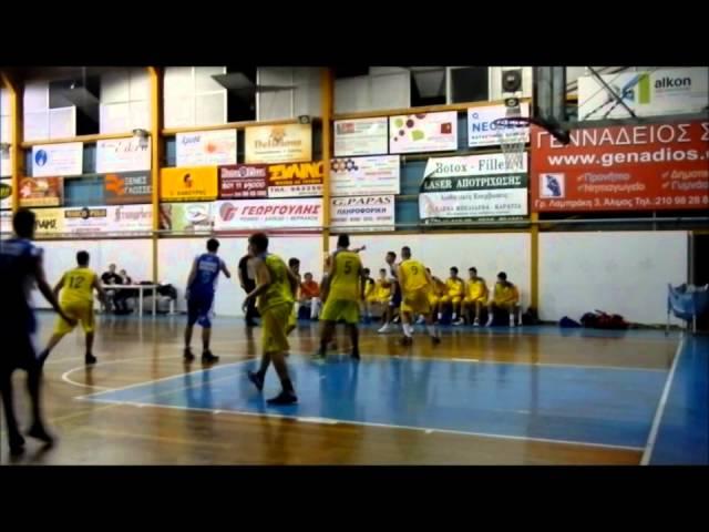Α ΠΑΙΔΩΝ | ΑλΦ Αλίμου – Ιωνικός Νικαίας 51-61. Δείτε στιγμιότυπα από τον αγώνα (video Ionikos Nikaias BC) για την 1η αγωνιστική.