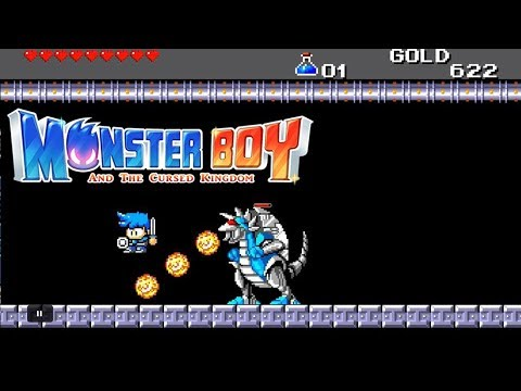 Monster Boy and the Cursed Kingdom - Secret 8-Bit Cyber Dungeon thumbnail