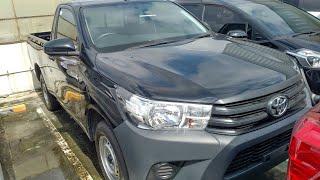 In Depth Tour Toyota Hilux Single Cab 2.0 Gasoline - Indonesia