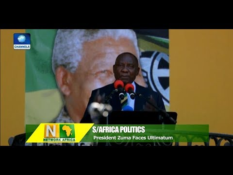 ANC Top Executives Meet As Zuma Faces Ultimatum To Step Down |Network Africa|