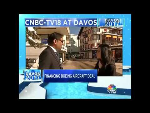 #Davos2017: Boeing Boost For Spicejet, Ajay Singh Exclusive
