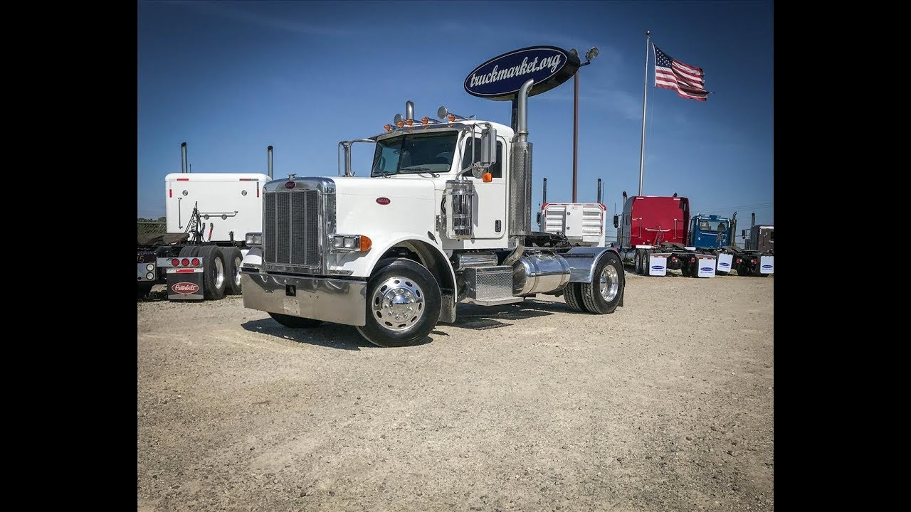 2006 Peterbilt 379 Single Axle Daycab For Sale Youtube