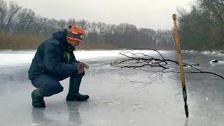 В ЭТИХ МЕСТАХ без рыбы не останусь Зимняя Рыбалка