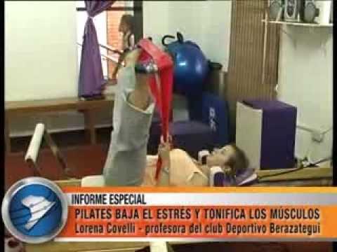 PILATES BAJA EL ESTRÉS Y TONIFICA LOS MÚSCULOS