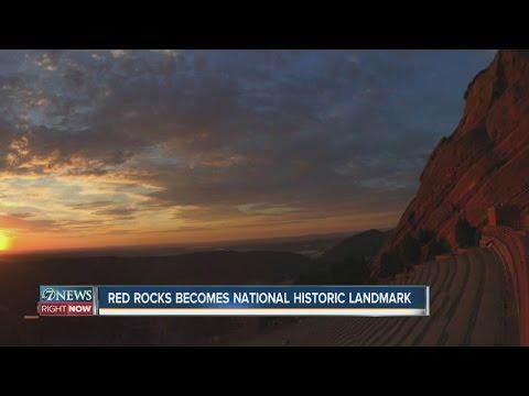 Red Rocks becomes National Historic Landmark