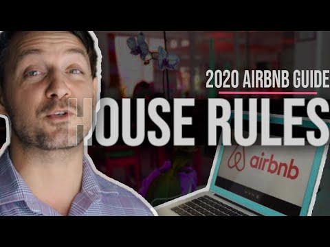 Updates You Need To Make Now  Airbnb House Rules 2020