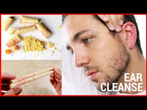 How To Clean Your Ears Properly - Ear Wax Candling