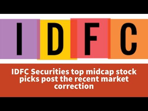 IDFC Securities top midcap stock picks post the recent market correction after Budget 2018