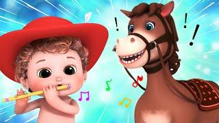 yankee doodle song | Ultra HD 4K - nursery rhymes | Little Amy - Baby Songs by Bundle of Joy