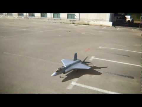 RC F-35 Vertical Takeoff