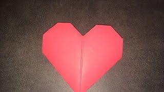 Tuto Origami : Le Coeur Facile
