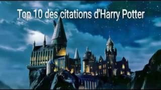 Top 10 des plus belles citations Harry Potter