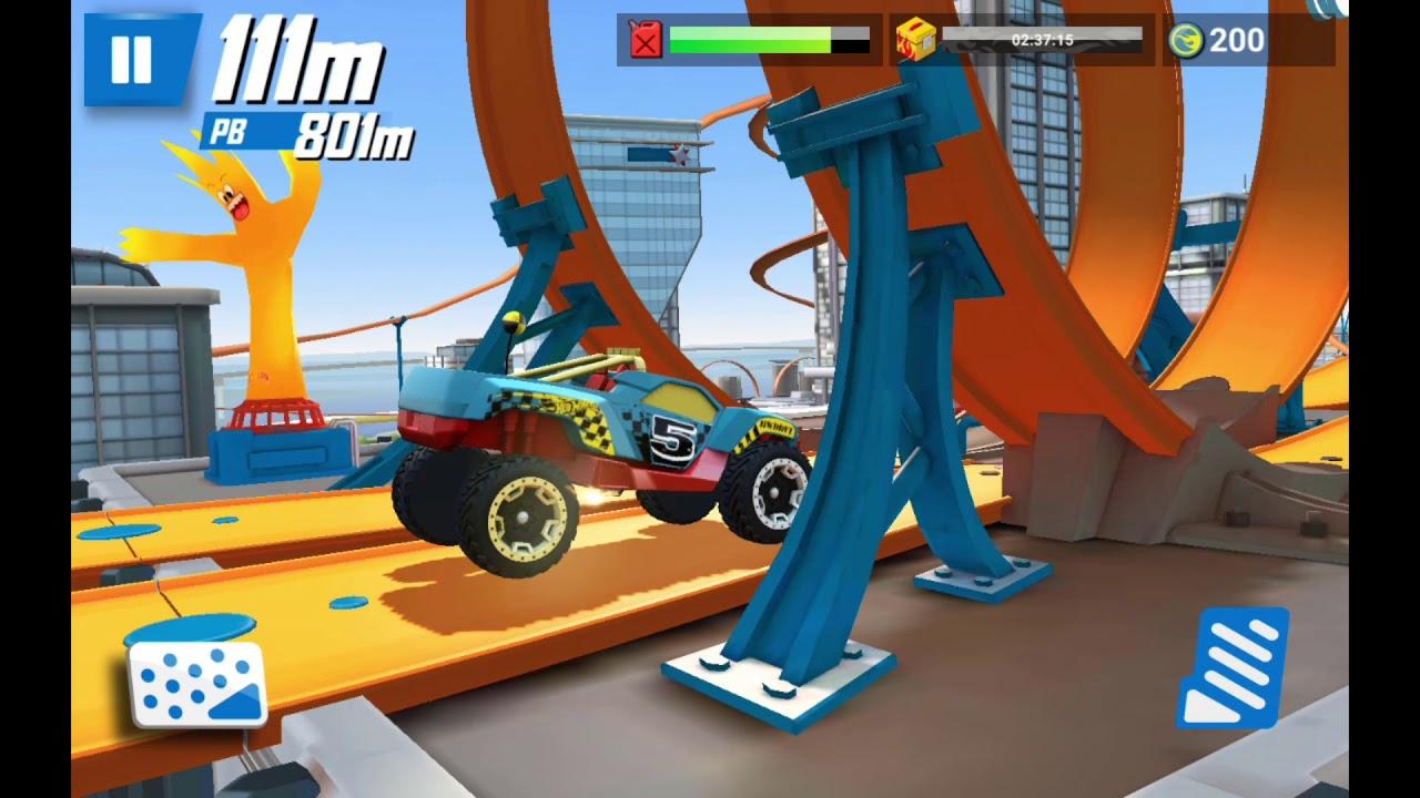 HOT WHEELS ANDRIOD STUNT RACE GAME!