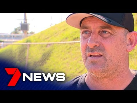 Driver Mark Brown Joins Protest At The Sydney Speedway In Granville | 7NEWS