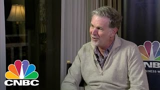 Netflix's Reed Hastings On AT&T-Time Warner Merger | CNBC