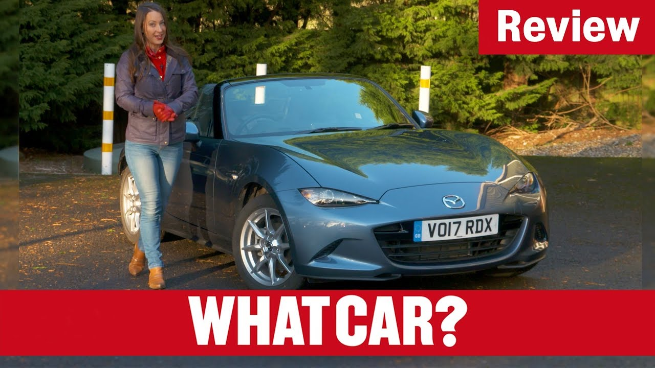 2018 Mazda MX-5 review – drop-top motoring for a bargain price?   What Car? - Dauer: 6 Minuten, 30 Sekunden
