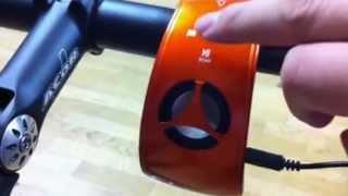 Xfire curio bicycle speaker FM radio