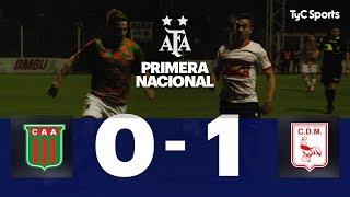 Agropecuario 0 VS. Deportivo Morón 1 | Fecha 7 | Primera Nacional 2019/2020