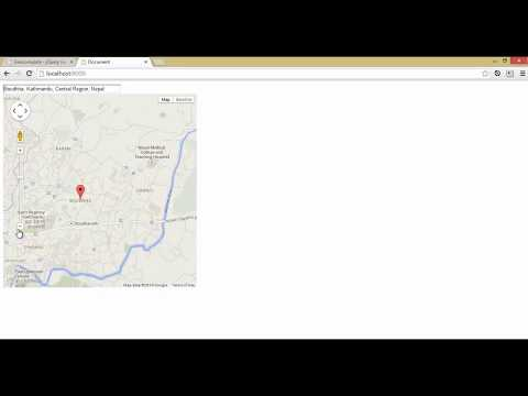 jQuery easy google map geocomplete, autocomplete and map kathmandu