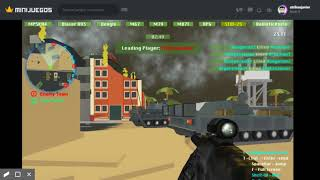WIN EN UNA PARTIDA FACIL / MILITARY WARS 3D MULTIPLAYER #2