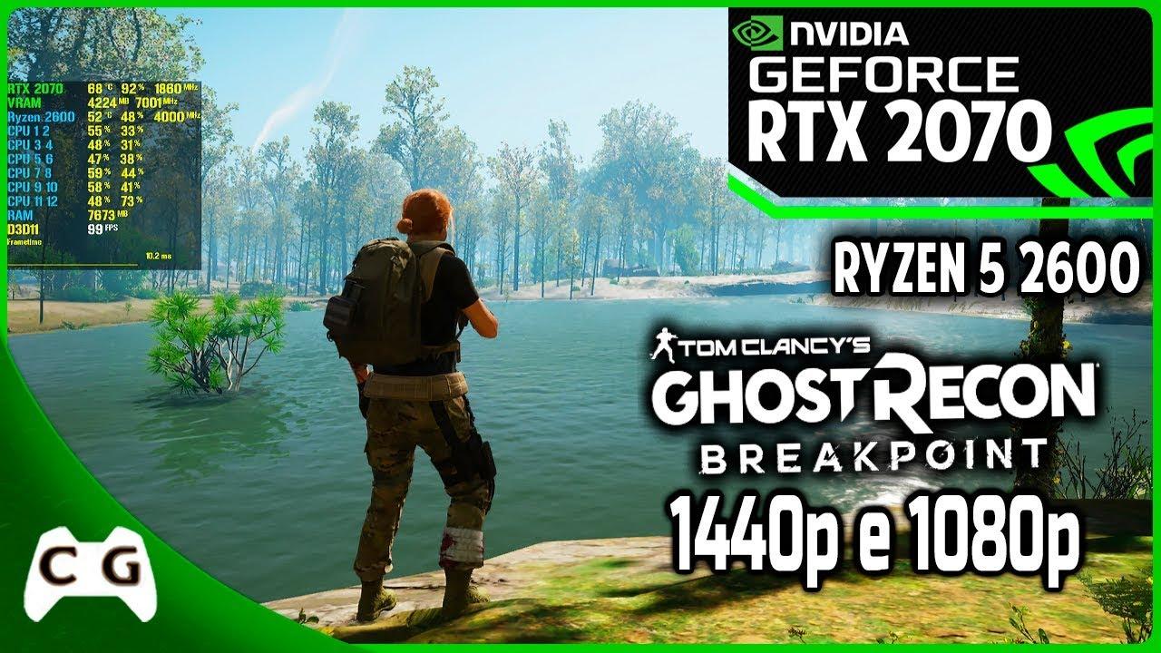 Ghost Recon Breakpoint Beta Gameplay RTX 2070 + Ryzen 5 2600   Ultra 1080p  - 2 5k 1440p #12