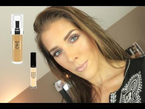 Makeup Atelier Foundation & Concealer Review and Demo | Mand