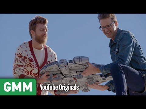 Download Youtube: Making The Lego Millennium Falcon Fly
