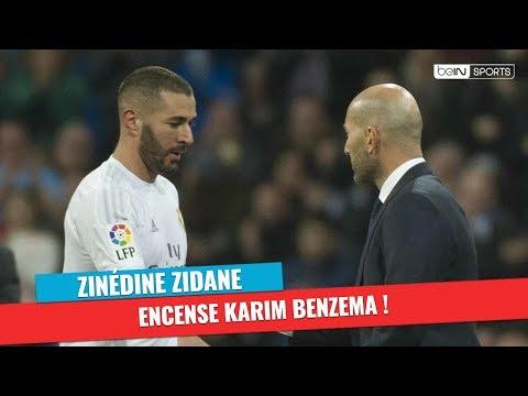 Real Madrid - Zinédine Zidane encense Karim Benzema