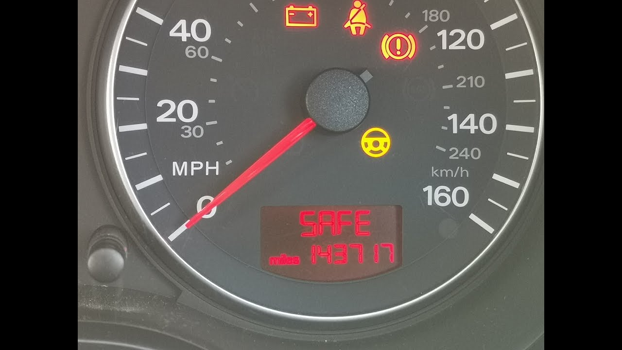 How to fix Safe mode on Audi A3 | A4| A6 | Any car