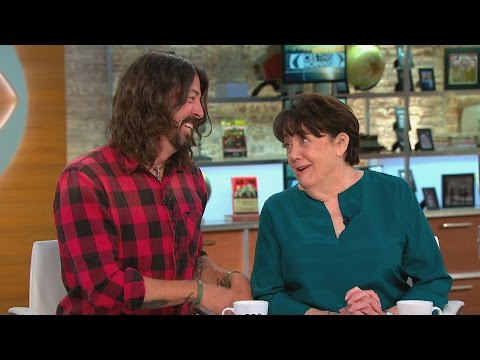Dave Grohl and his mother talk new book about raising rock stars