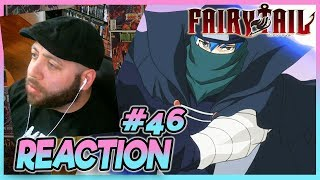 """FAIRY TAIL Episode 46 REACTION """"Clash At Kardia Cathedral!"""""""