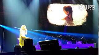【CelineCN】独家 Celine Dion - The first time ever I saw your face 2015-09-02