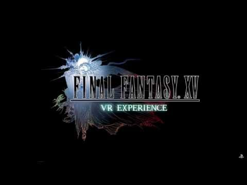 Final Fantasy XV Playstation VR gameplay demo
