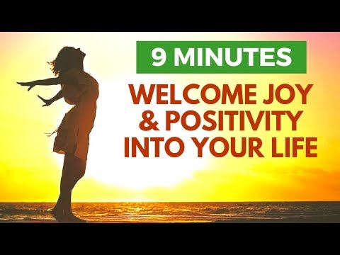 I Welcome Joy Into My Life | Morning Affirmations for Positive Energy